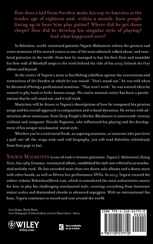 Relentless: The Memoir: Amazon.es: Malmsteen, Yngwie J.: Libros en ...