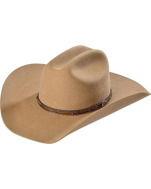 7871f7d5ea995 Justin Boots - Sombrero cowboy - para hombre  Amazon.es  Ropa y accesorios