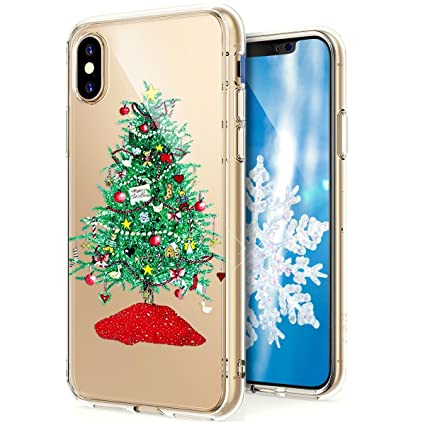 Christmas Iphone X Case.Amazon Com Phezen Iphone X Case Iphone 10 Case Iphone X