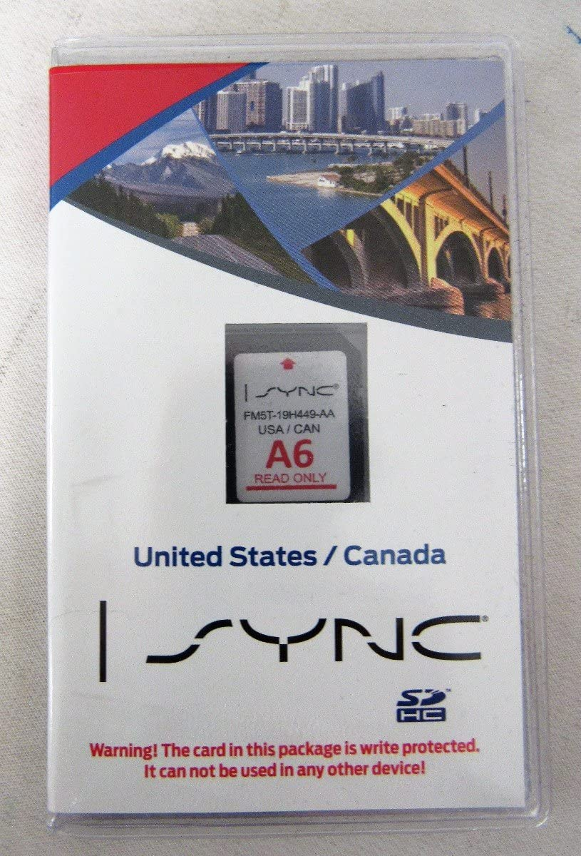 Us And Canada Sync Navigation System Map Update Version A6 Amazon.com: Ford Lincoln Sync U.s. and Canada Navigation System A6