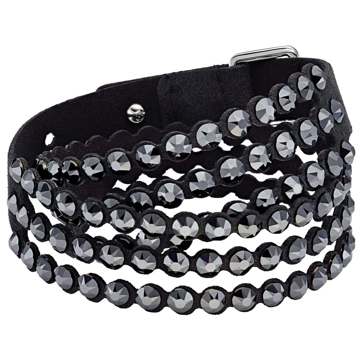 SWAROVSKI Swapower Slake Bracelet Black Oth Medium by SWAROVSKI