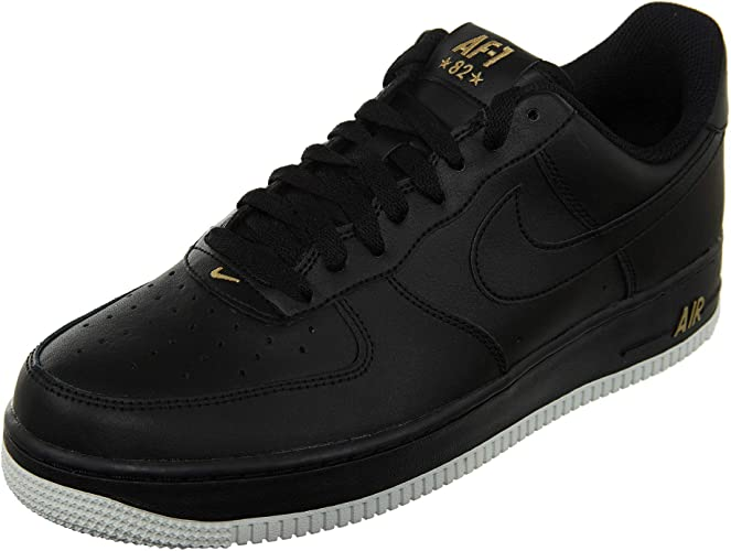 nike air force 1 oro nero