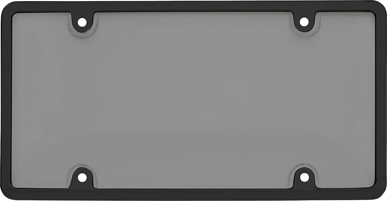 Black//Smoke Cruiser Accessories 62052 Tuf Combo License Plate Shield//Cover