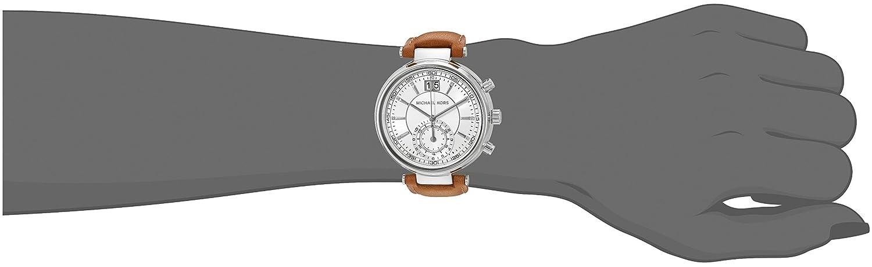 8bf45d411199 Michael Kors Women s Sawyer Brown Watch MK2527  Michael Kors  Amazon.co.uk   Watches