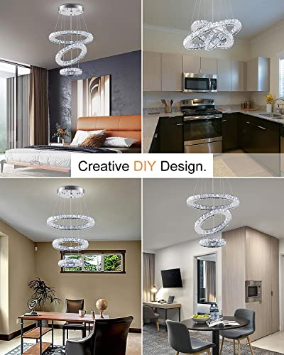 Modern Led Chandelier High Ceiling