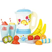 Le Toy Van Honeybake Collection Blender & Wooden Fruit Set Premium Wooden Toys for Kids Ages 3 Years & Up (TV296)