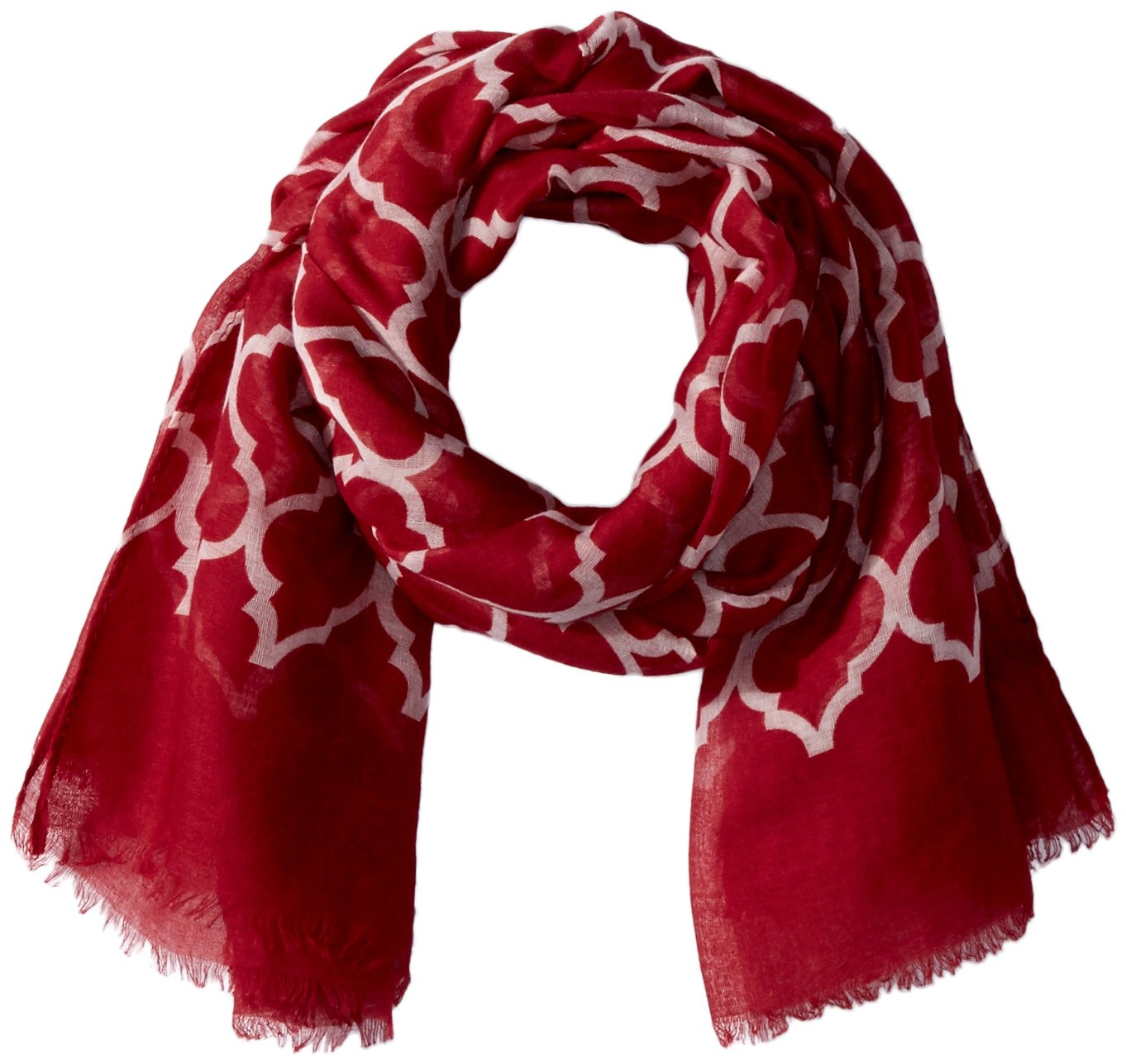 Tickled Pink ACCESSORY レディース B073VDBWN1 Crimson and White Crimson and White