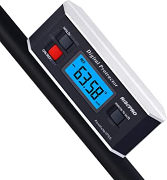 Digital LCD Protractor Gauge Level Box Angle Finder Inclinometer Magnet Meter