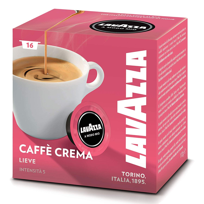 Lavazza A Modo Mio Caffè Crema lievemente, Café, 5 unidades, 5 x 16 Cápsulas: Amazon.es: Hogar