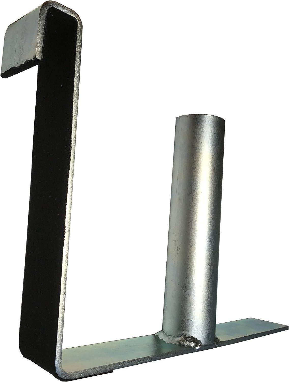 Abroller Montagehilfe für Zaunfolie Doppelstabmatten Zaun Sichtschutz Rolle PVC