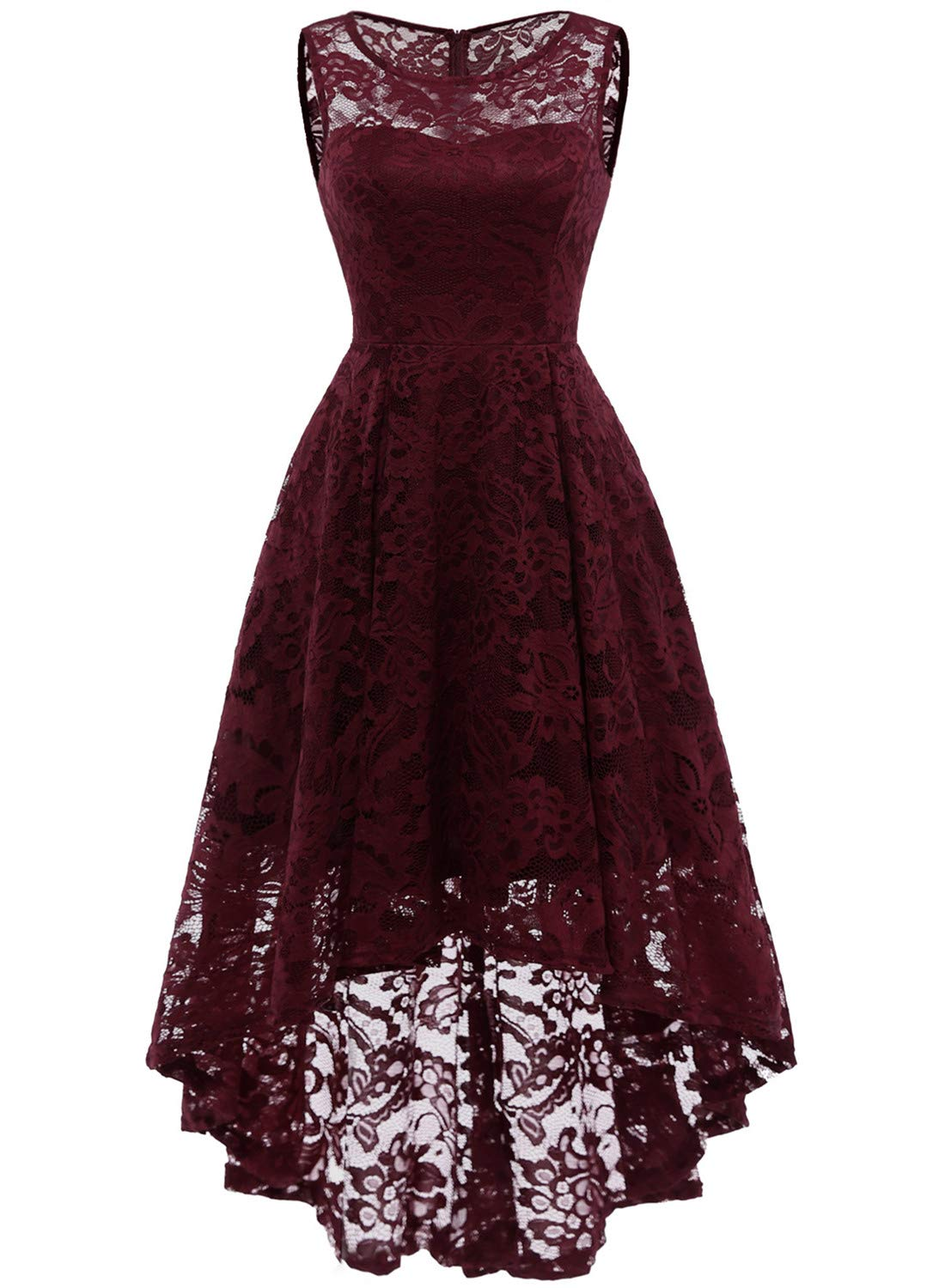 908cd960116 MUADRESS Women s Vintage Floral Lace Sleeveless Hi-Lo Cocktail Formal Swing  Dress product image