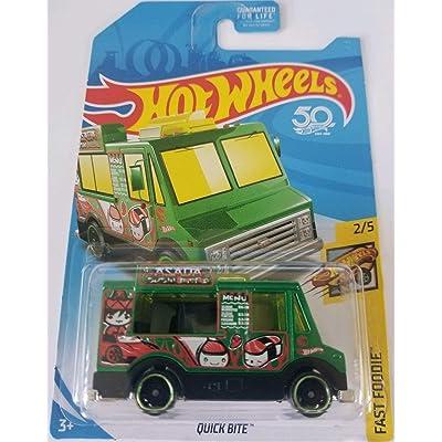 Hot Wheels 2020 Regular Treasure Hunt Fast Foodie 2/5 - Quick Bite (Green): Toys & Games