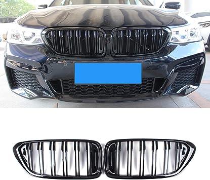 BMW F07 5-SERIES GT  GRAN TURISM MATTE BLACK FRONT HOOD GRILLE KIDNEY