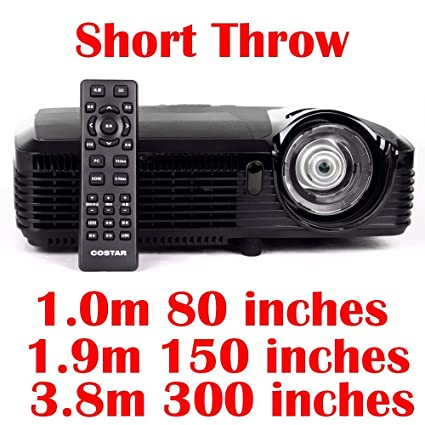 Proyector Ultra corto alcance 1080P 3d DLP distancia focal corta ...