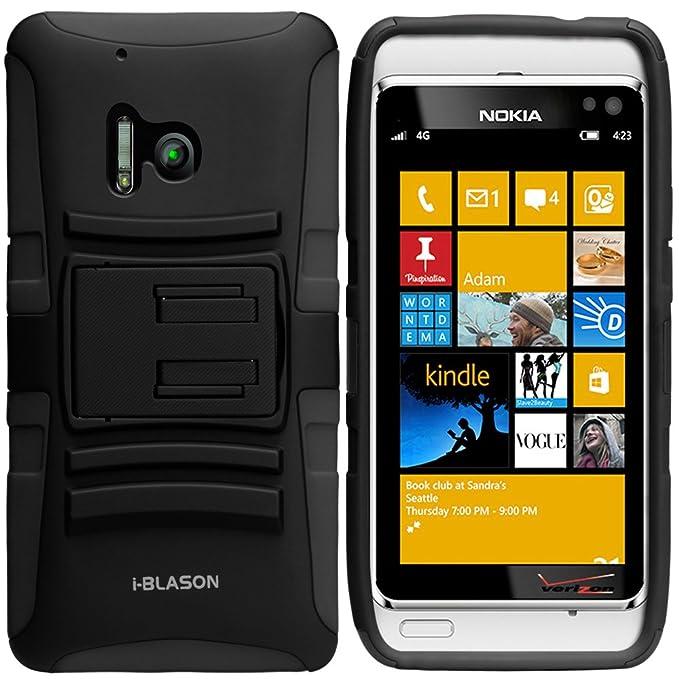 i-Blason Nokia Lumia 928 Prime serie Dual Layer Funda ...