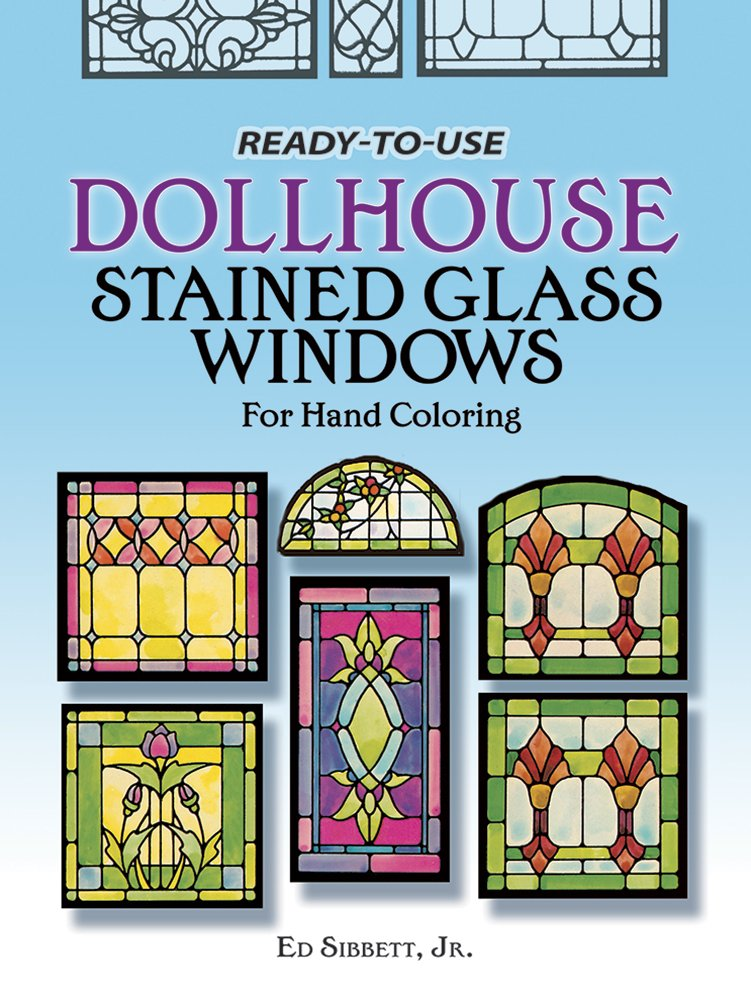 picture relating to Dollhouse Windows Printable identified as Prepared-in the direction of-Seek the services of Dollhouse Stained Gl Home windows for Hand