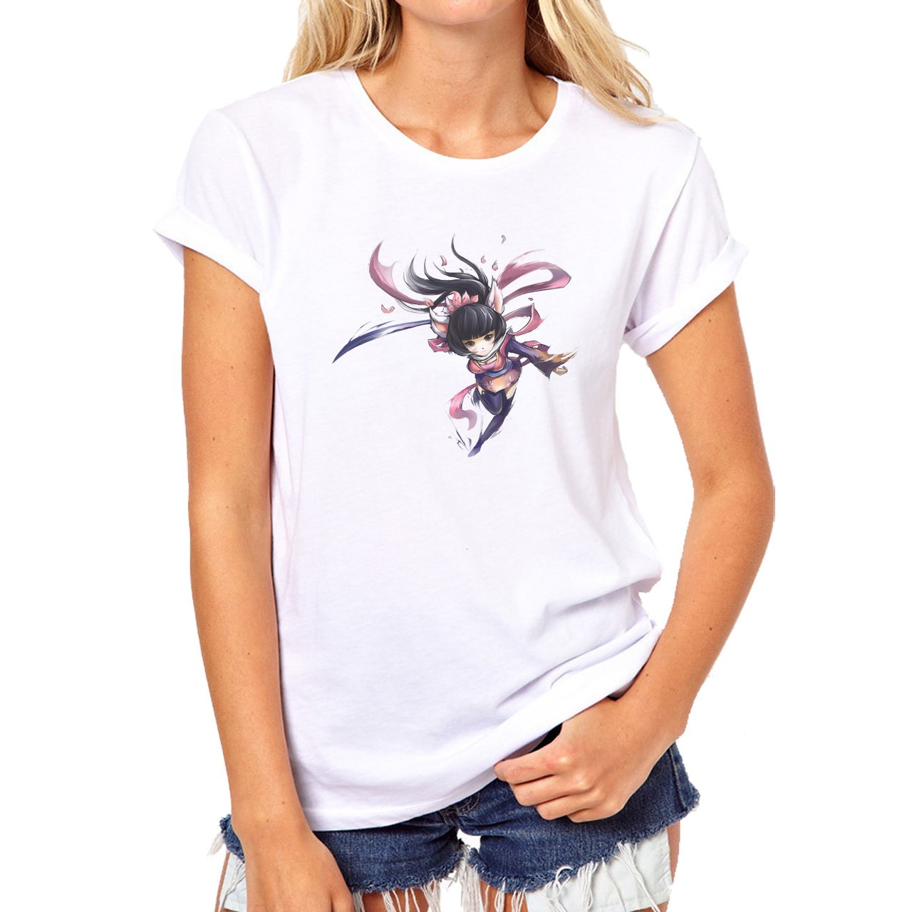 Speedy Ninja Ari Dance Run XXL Mujer T-Shirt: Amazon.es ...