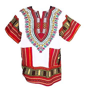6f6f5ad72b5 Amazon.com  Dashiki Shirt African Top Clothing Kaftan …  Clothing