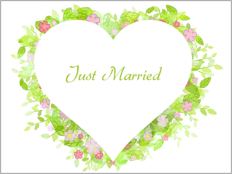 Drap de Mariage comme Un Jeu pour Le Cadeau de Mariage Amusant Prairie Krause /& Sohn Feuilles de Coeur diff/érents Motifs
