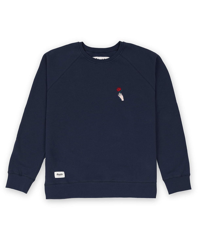 Brava Fabrics, Gemusterter Sweater in der Farbe Blau, Modell The End Sweater