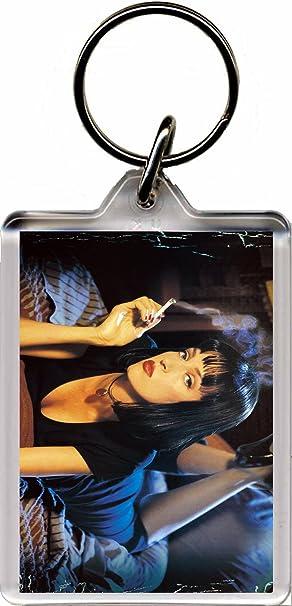 Pulp Fiction (Mia) Llavero: Amazon.es: Equipaje