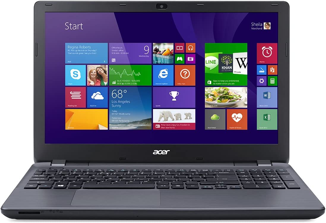 Acer Aspire E5-571-7776 Laptop (Windows 8, Intel Core i7-4510U 2.0 GHz, 15.6