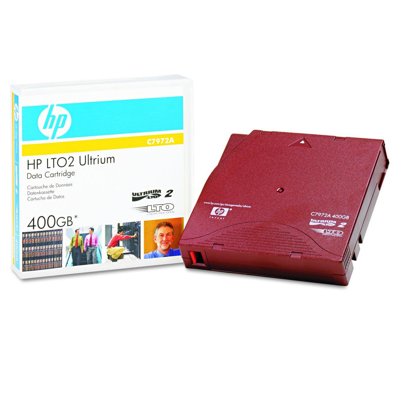 HP 1pk Lto1 Ultrium 100/200gb Tape Cartridge Hewlett Packard HEWC7971A 103580 Blank Media & Cleaning Cartridges
