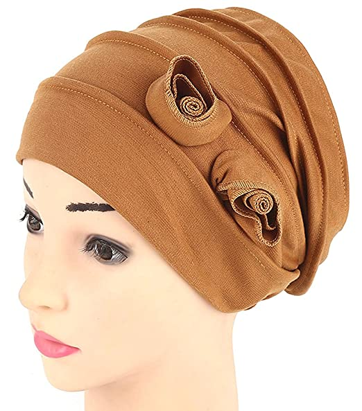 da98fabb5 RACHELJP Cancer Hat Chemo Hats Caps Women Turban Headwear for Hair Loss  Cancer Patients