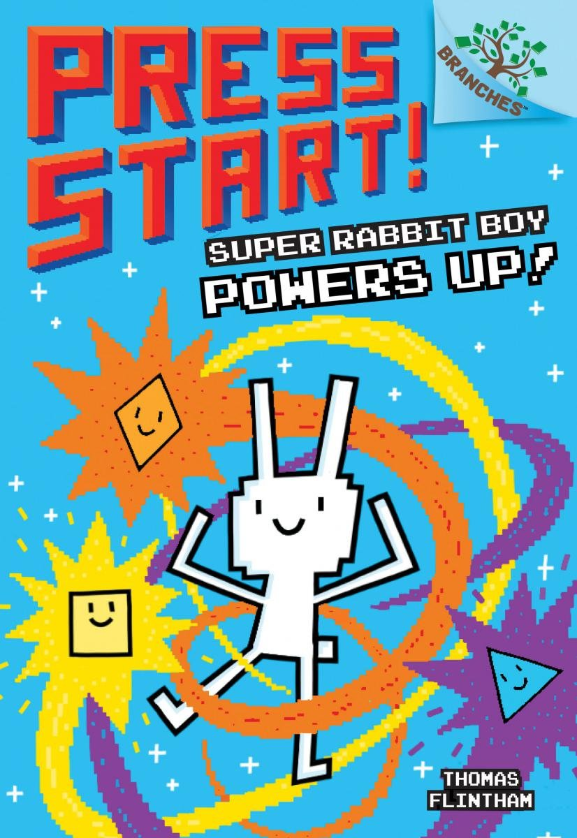 Super Rabbit Boy Powers Up! A Branches Book (Press Start! #2) by Scholastic Inc. (Image #1)