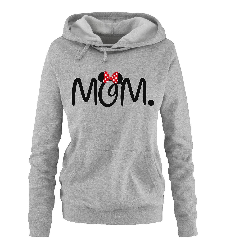 Liebe Love Damen und Herren MOM and DAD Comedy Shirts P/ärchen Hoodie Mickey and Minnie