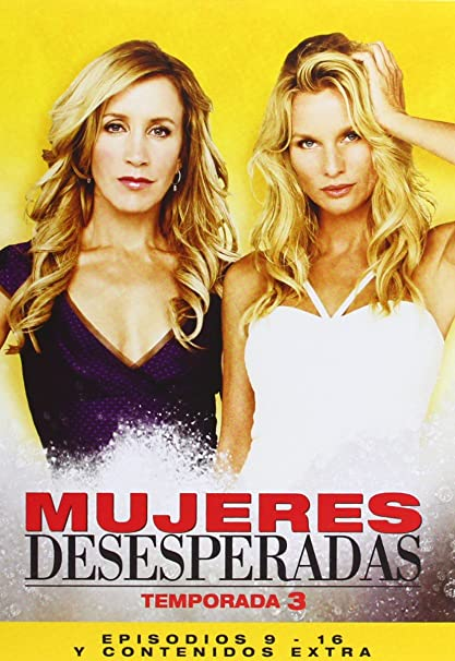 Amazon.com: Mujeres Desesperadas - 3ª Temporada Completa (6 Dvds) (Import) (Non Us Format) (Region 2): Movies & TV