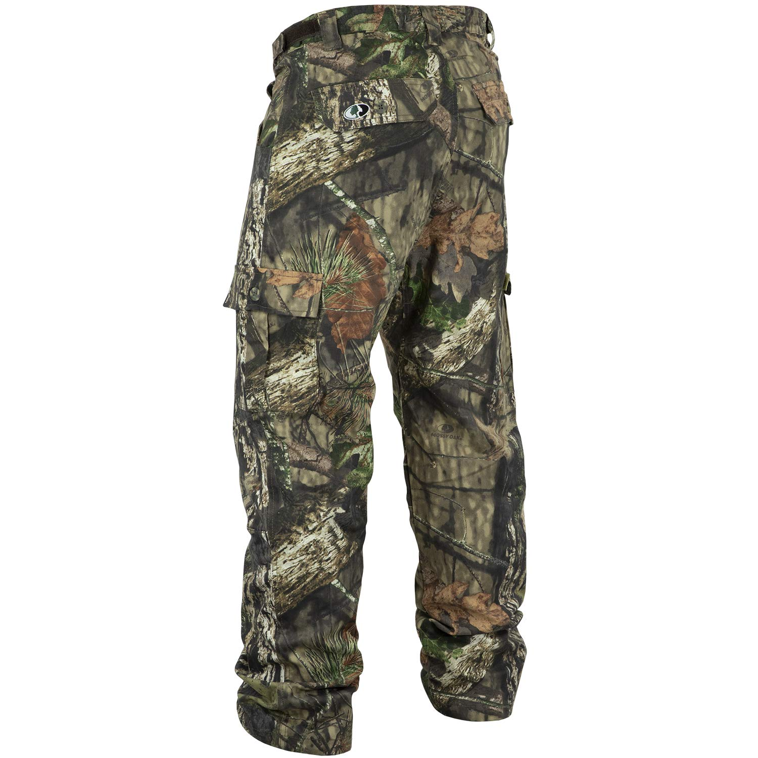 f8d1a116533a9 Amazon.com : Mossy Oak Youth Cotton Mill 2.0 Camouflage Hunting Pant in  Multiple Camo Patterns : Sports & Outdoors