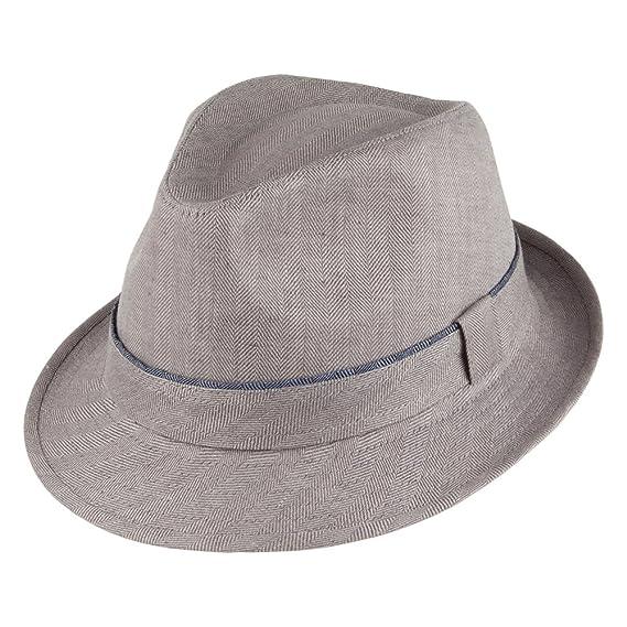 Failsworth Hats Irish Linen Trilby Hat - Grey LARGE  Amazon.co.uk ... 2622c0997d69