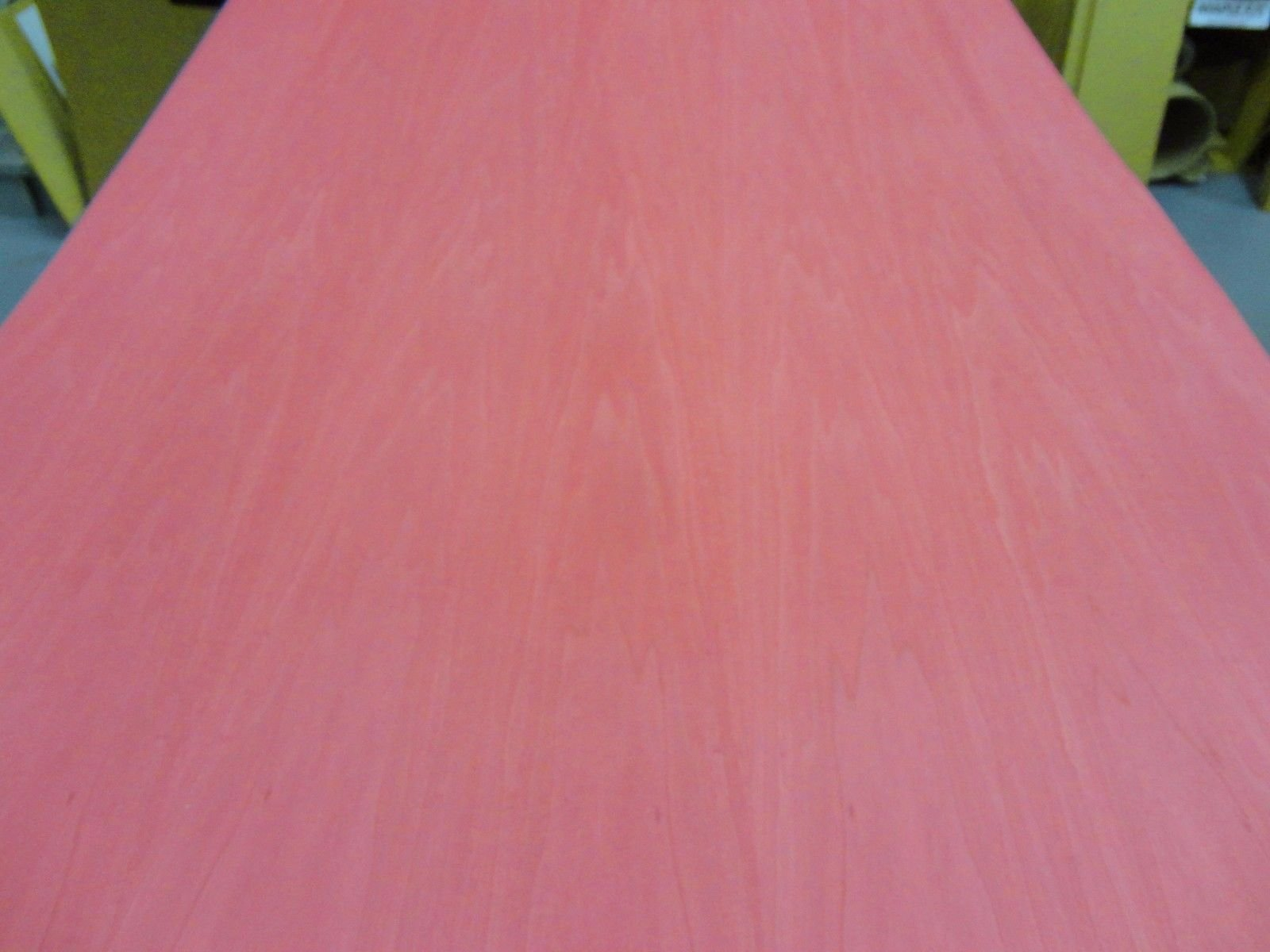 Red Poplar Dyed wood veneer sheet 48'' x 96'' with paper backer 1/40'' thickness