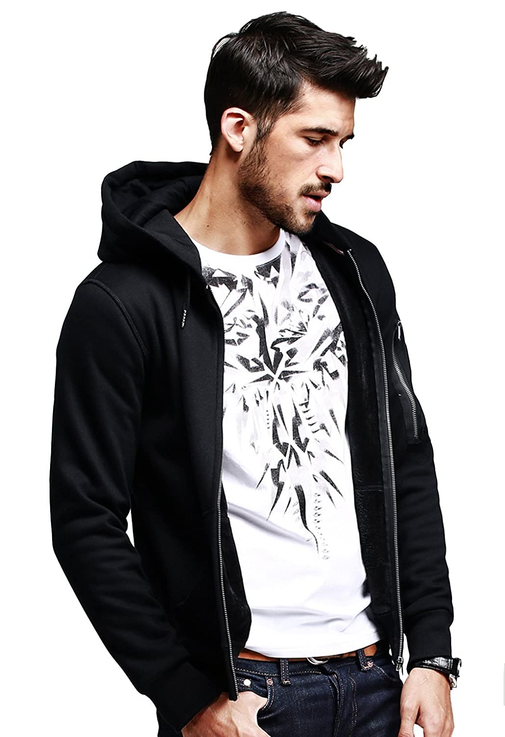 Deals on Men's Premium Zipper Hoodies
