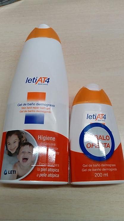 LETI GEL DE BAÑO DERMOGRASO PACK 750 + 200 ml