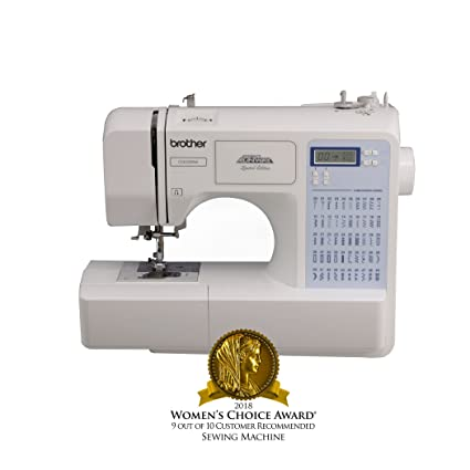 Amazon Brother Project Runway CS40PRW Electric Sewing Machine Extraordinary Brother Sewing Machine Amazon