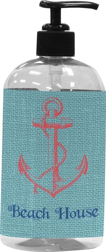 Chic casa de playa plástico jabón/dispensador de loción