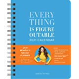 Everything Is Figureoutable 2021 Monthly/Weekly Planner Calendar