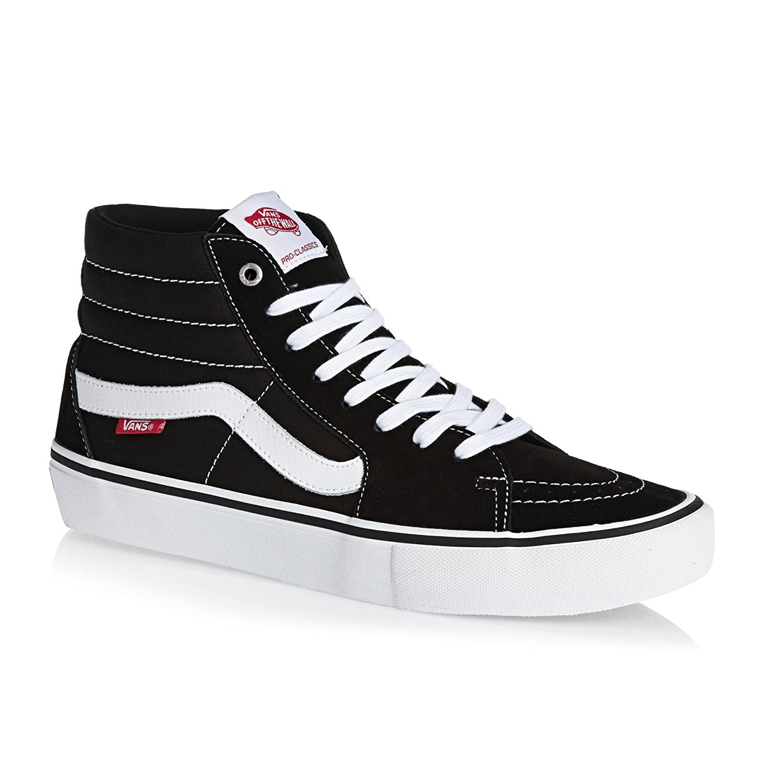 Vans Sk8-Hi Pro Black/White 7uk 7 UK|Black/White Black/White