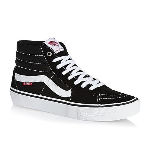 a8612f7fab5 Vans Sk8 Hi Pro Shoes - Black White UK 8  Amazon.co.uk  Shoes   Bags