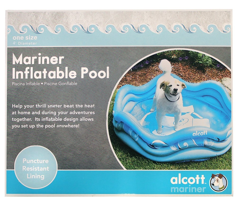 Best inflatable pool for medium-size dogs: Alcott Inflatable Pool for Dogs