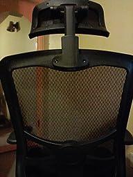 Review imageAmazon com  Lorell Hi Back Chair Mesh Headrest  Black  Kitchen  . Alera Elusion Chair Reviews. Home Design Ideas