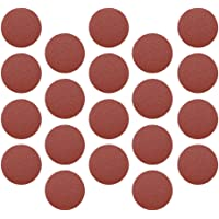 FITYLE 16 Types 20pc 75mm 3'' Sanding Discs Sandpaper Hook and Loop Abrasive Polishing Pads - as shown, P60