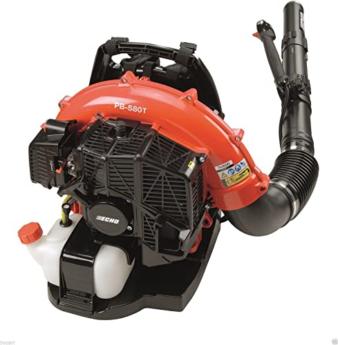 Echo PB-580T 58.2 CC Back Pack Blower with Tube Mounted Throttle, 510 CFMGY 583-4 6-DFG290107