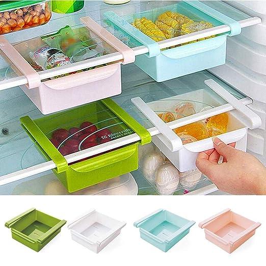 zhaokai Mini Refrigerador Cajón Organizador Multifunción ...