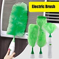 Electric dust Collector Multi-Function Electric Rotary Cleaning Tool Feather Tweezers Used for Blinds Dust Brush Furniture Electronics
