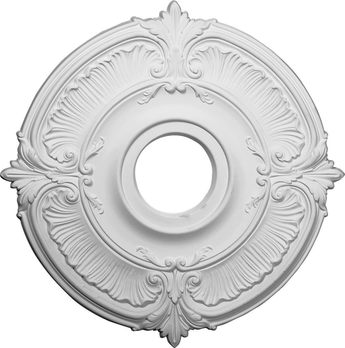 Ekena Millwork CM18AT 18-Inch OD x 4-Inch ID x 5/8-Inch Attica Ceiling Medallion by Ekena Millwork