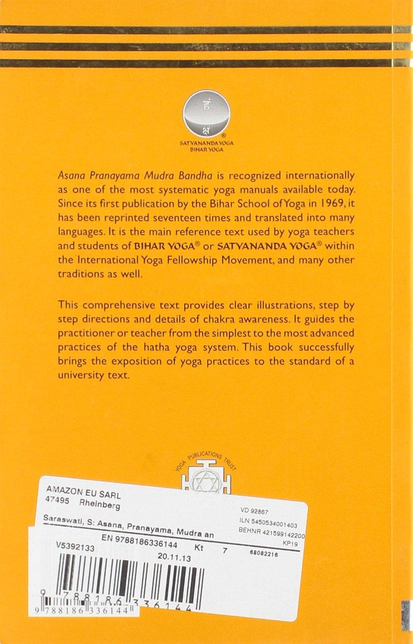 Asana, Pranayama, Mudra and Bandha: 1: Amazon.es: Swami ...