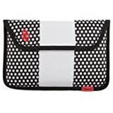 Timbuk2 Ballistic Envelope Sleeve Case for 7-Inch Tablets with 360 Degree Protection, BW Polka Dots/White
